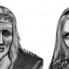 Skizze: Asleif und Lan