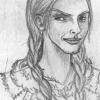 Portraitskizze: Dörthild