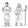 Garion und Neferu (Adaption von Diana)
