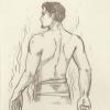 Skizze: Garion im Badehaus