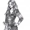 Lanyana als Wahlthorwalerin (gezeichnet von Dorothee Wittstock)