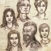 Nichtspielercharaktere + Rychard/Rahjard mit Haarverlängerung