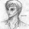 Portraitskizze: Nel aus Eschenrod