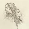 Skizze: Salpico und seine Schülerin