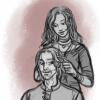 """""""Rote Perlen ins Haar."""""""