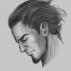 Portraitskizze: Garion