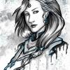 Aerhys ay Yura Portrait (gezeichnet von Nattravn)