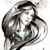 Lanyana Portrait (gezeichnet von Nattravn)